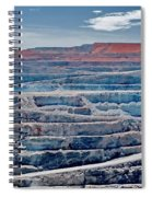 Open Pit Gold Spiral Notebook