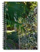 Open Slowly Spiral Notebook