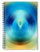 Open Spirit - Energy Art By Sharon Cummings Spiral Notebook