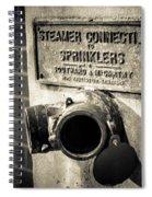 Open Sprinkler Spiral Notebook