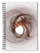 Open To Love Fine Fractalart Spiral Notebook