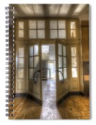 Open To The Light Spiral Notebook