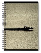 Open Waters Triptych Spiral Notebook