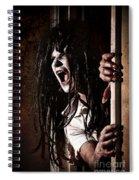 Opened Closet Spiral Notebook