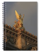 Opera Garnier In Paris France Spiral Notebook