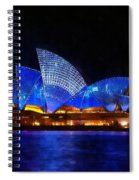 Opera House Sydney Australia Spiral Notebook