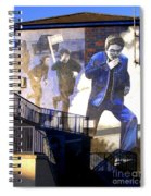 Derry Mural Operation Motorman  Spiral Notebook