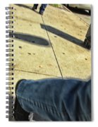 Opposite Direction Spiral Notebook
