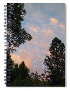 Opposite The Sunset Spiral Notebook