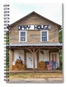 Opry House - Square Spiral Notebook
