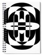 Opt Art 6 Spiral Notebook