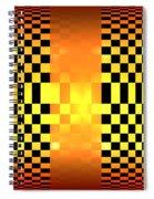 Optical Illusion Spiral Notebook