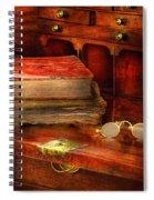 Optometrist - Glasses - The Secretary Spiral Notebook