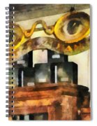 Optometrist - Spectacles Shop Spiral Notebook
