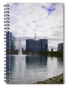 Oracle Buildings In Redwood City Ca Spiral Notebook