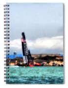 Oracle Team Usa And Alcatraz Spiral Notebook