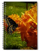 Orange Azalea Spiral Notebook