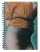 Orange Blouse Spiral Notebook