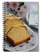 Orange Cake Spiral Notebook