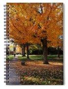 Orange Canopy - Davidson College Spiral Notebook