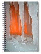 Orange Cave Spiral Notebook