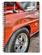 Orange Chevelle Ss 396 Spiral Notebook
