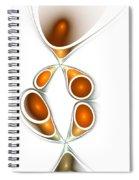 Orange Creation Spiral Notebook