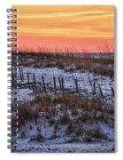Orange Dawn Spiral Notebook