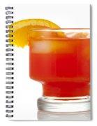 Orange Drink Spiral Notebook