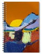 Orange Evening Spiral Notebook