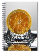 Orange Freshsplash Spiral Notebook