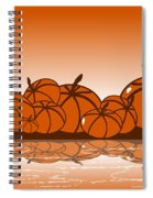 Orange Harvest Spiral Notebook