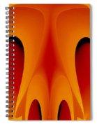 Orange Mask Spiral Notebook