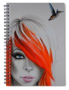 Orange Nectar Spiral Notebook