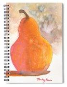 Orange Pear Spiral Notebook