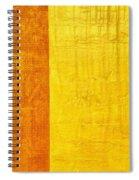 Orange Pineapple Spiral Notebook