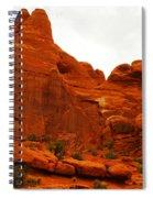 Orange Rock Spiral Notebook