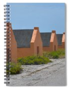 Orange Slave Spiral Notebook