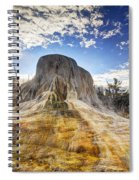 Orange Spring Mound Spiral Notebook
