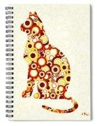 Orange Tabby - Animal Art Spiral Notebook