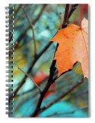 Orange You Gonna Fall Spiral Notebook
