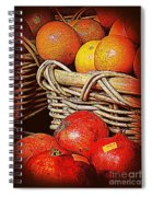 Oranges And Persimmons Spiral Notebook