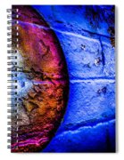 Orbiting The Wall Spiral Notebook