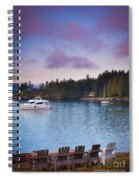 Orcas Viewpoint Spiral Notebook
