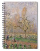 Orchard At Pontoise Spiral Notebook