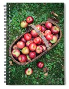 Orchard Fresh Picked Apples Spiral Notebook