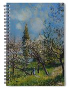 Orchard In Spring Spiral Notebook
