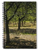 Orchard In West Michigan No. 279 Spiral Notebook