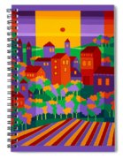 Orchard Villa Spiral Notebook