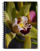 Orchid 148 Spiral Notebook